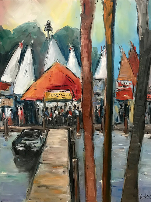 """""""The Yacht Club"""" by Joan Roberts"""