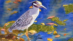 """Awash In Color"", is the way Shah Hadjebi describes his watercolor paintings..."