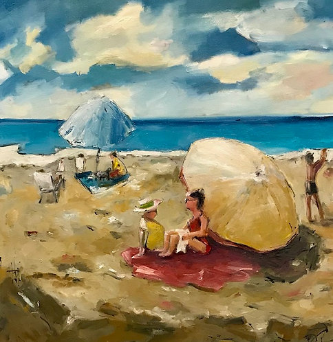 """On the Beach"" by Joan Roberts"