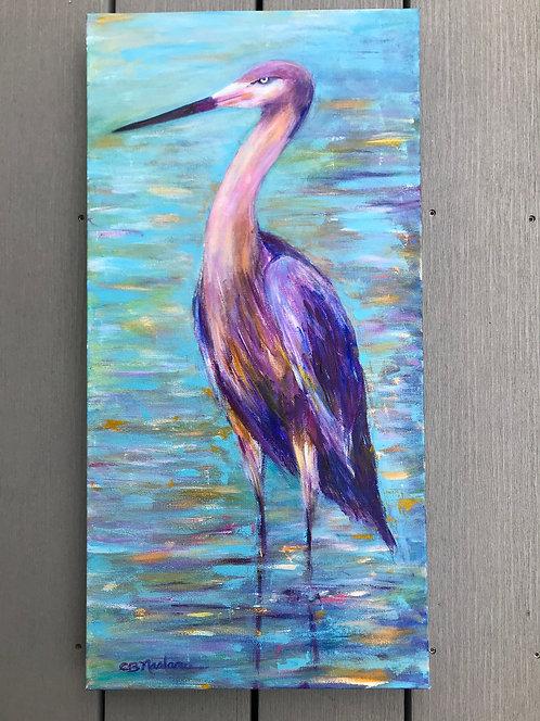 WATCHFUL EYE original acrylic painting by Carole Nastars