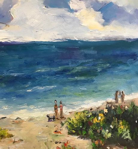 """Joan Roberts - """"Personalized about You on the Beach"""""""