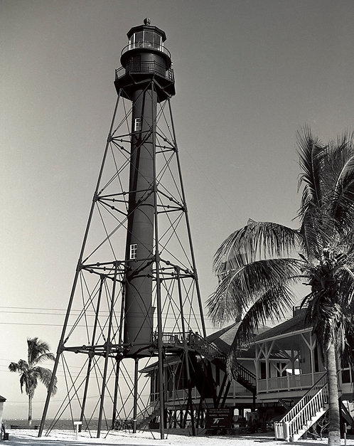 """""""Lighthouse c.1960"""" by Charlie McCullough"""