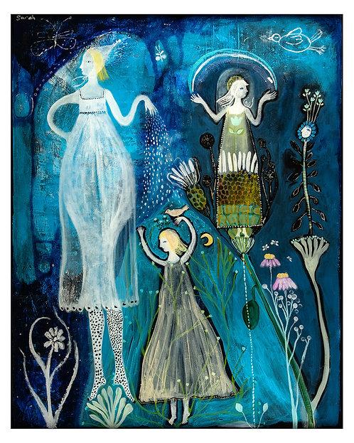 """Odette's Garden"" 16x20 Print by Sarah Kiser"