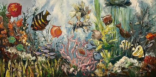 """""""Celebration at the Bottom of the Sea"""" by Joan Roberts"""