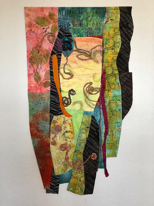 """In the Preserve II,"" Fiber Art by Sally Dutko"