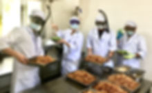 capiz cooks preparing fish