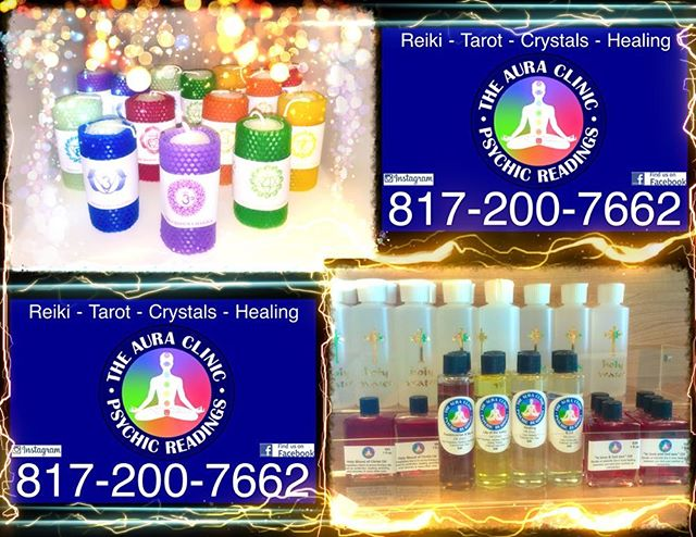 Fabulous Chakra Energy Candles & Essential Healing Oils!! 🙌🏻🔮⚡️⚡️⚡️ Lots of Rose Holy Water to go