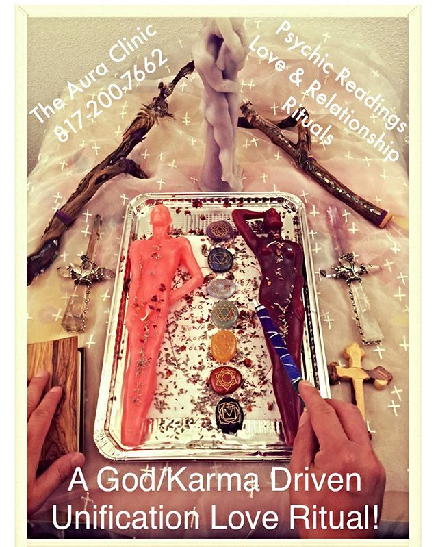 A positive and illuminated God driven love unification ritual with the right tools & most experience