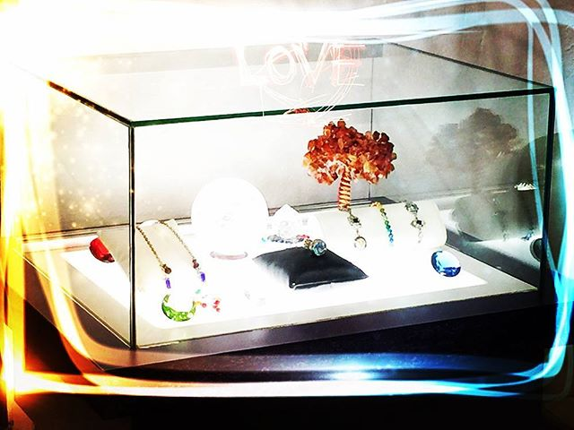 Happy Sunday!!_We carry everything from spectacular crystal balls to fabulous Chakra jewelry! Our st