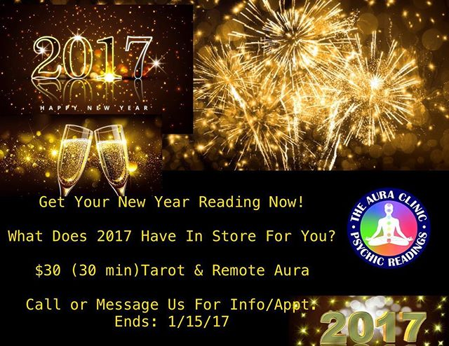 2017 Is Almost Here!! Praise God!!!_Get Your New Year Reading Now!!!_🌈🍾🍾🍾🥂🥂🥂🎉🎉🎉 Call or Me