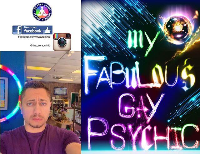 Fabulous. Gay. Psychic