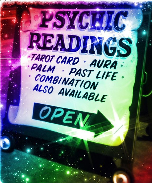 OPEN! Give us a call or email for a fabulous reading!