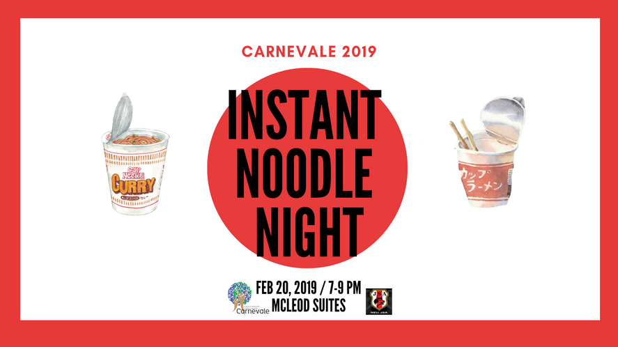 JSA Instant Noodle Night