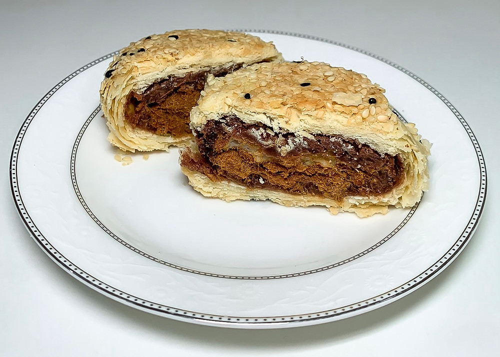 鴛鴦Q餅 Sesame Mochi Pastry