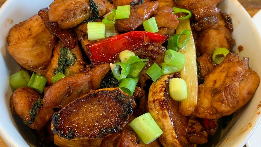[Recipe] Three Cup Chicken / Sanbeiji (三杯雞)