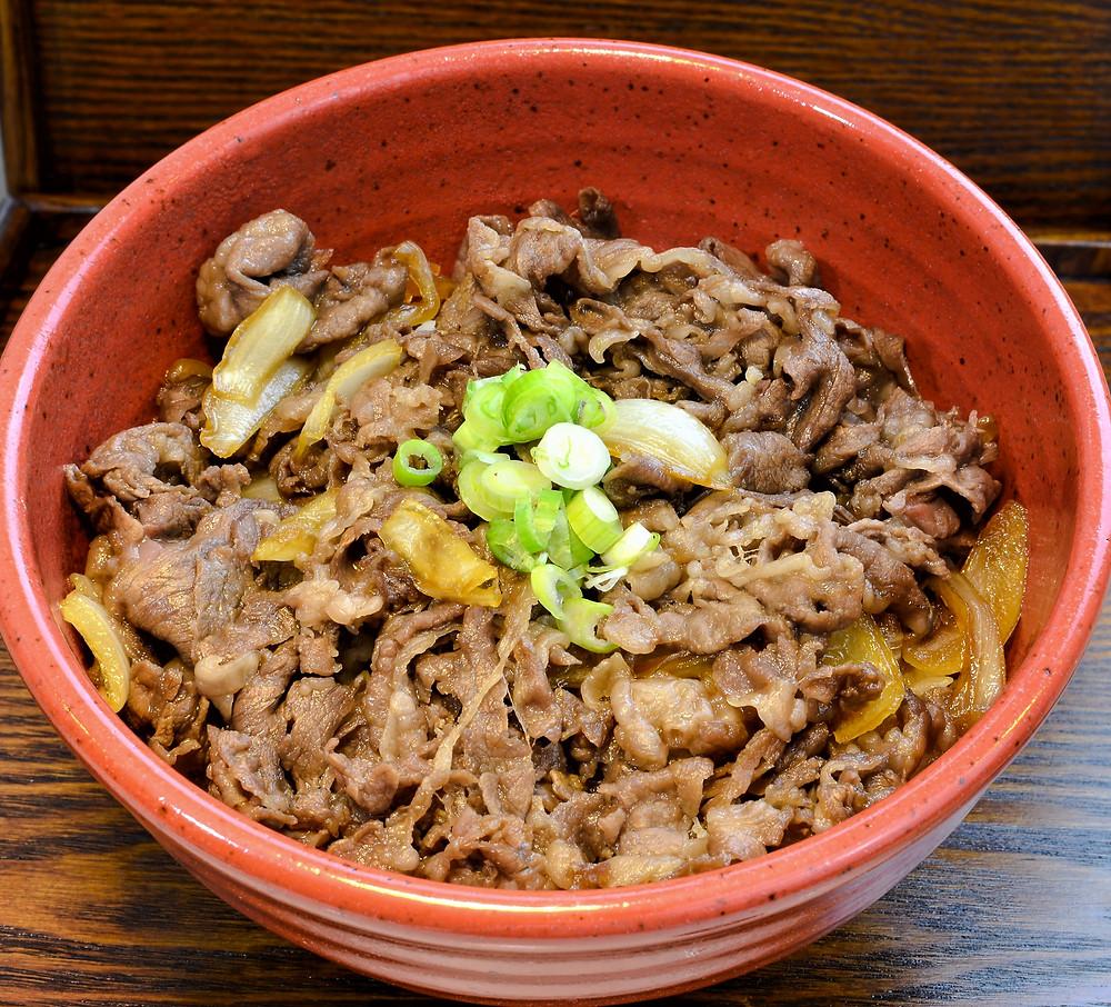 Gyudon from Tora Japanese Restaurant