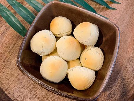 [Recipe] Korean Sesame Mochi Bread