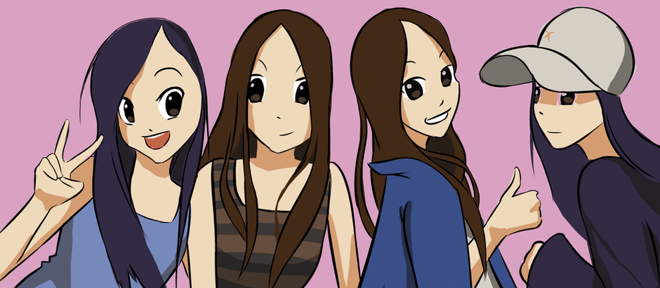 We are the Four Petite Foodies!