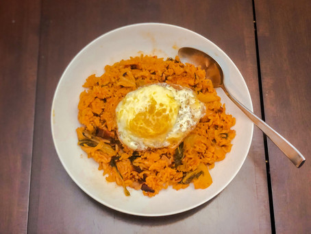 [Recipe] Kimchi Fried Rice