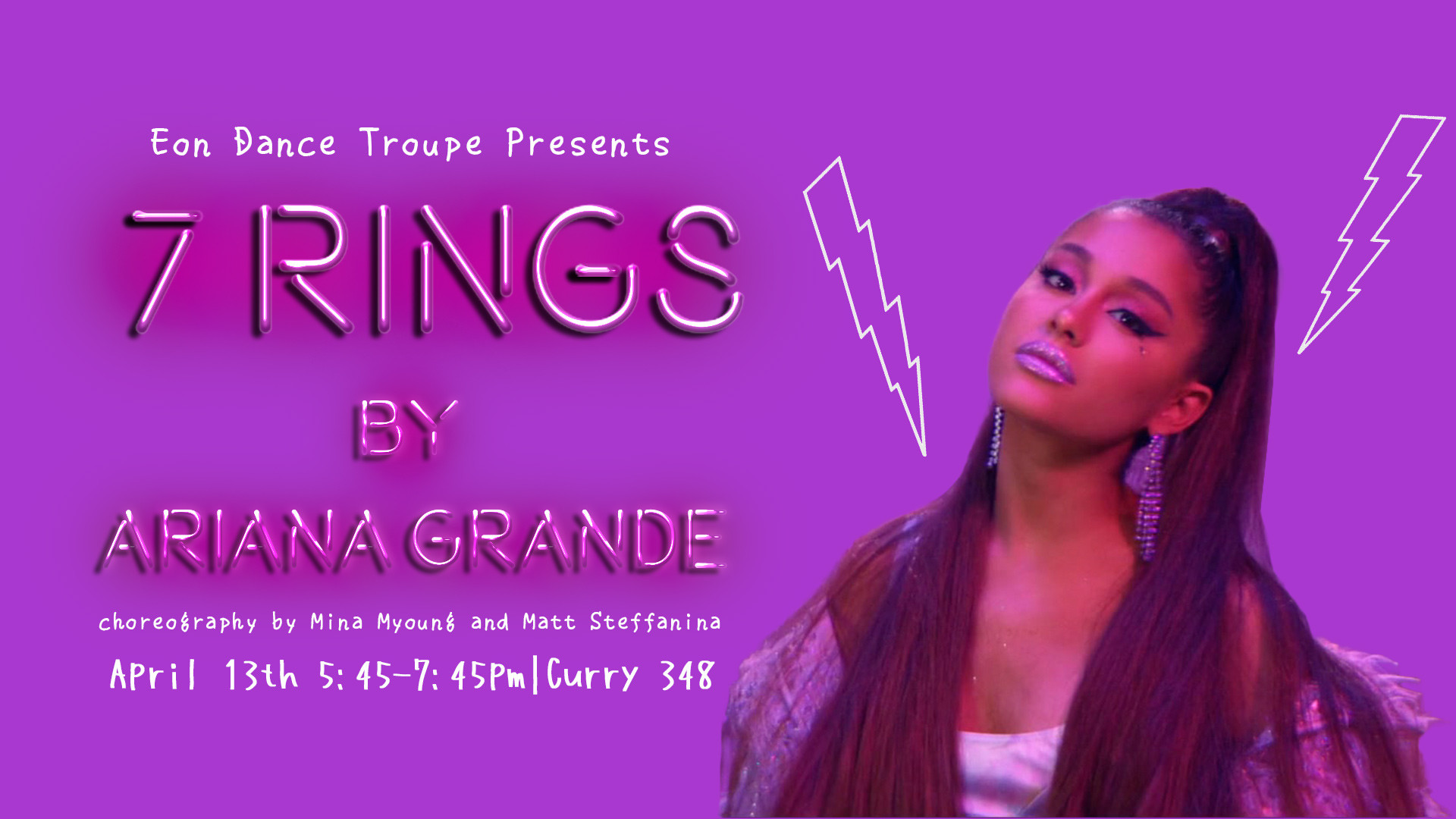 Eon Dance Troupe Workshop: 7 Rings by Ariana Grande