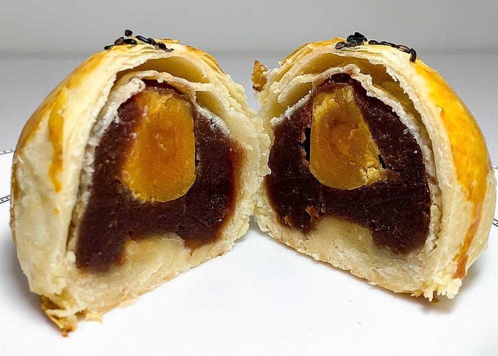 蛋黃酥 Egg Yolk Mooncake or Egg yolk pastry