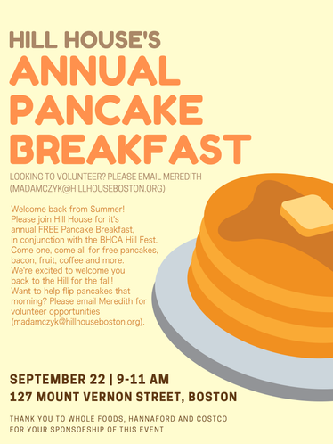 Hill House's Annual Pancake Breakfast