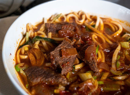 Red Braised Beef Noodle Soup | Recipe
