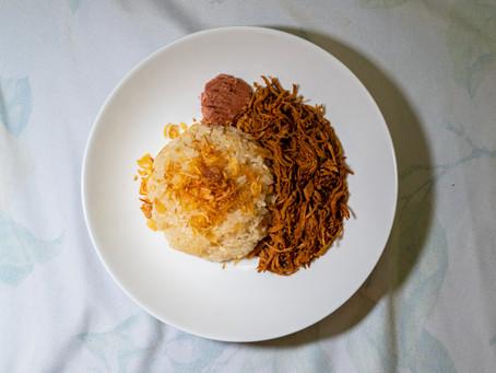 [Recipe] Vietnamese Chicken Sticky Rice (Xôi Gà)