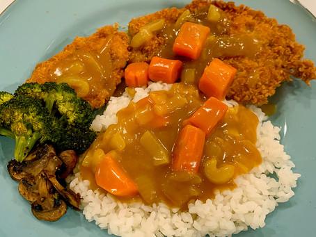 [Recipe] Pork Katsu with Japanese Curry