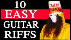 10 Easy Guitar Riffs by Buckethead