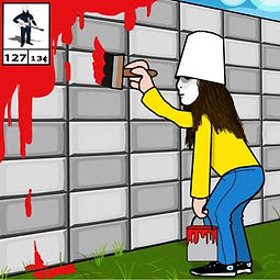 buckethead paint to the tile 127.jpg