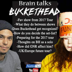 Touring with Buckethead