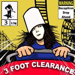 Buckethead 3 Foot Clearance