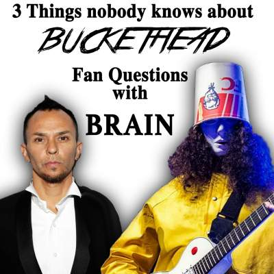 3 Things about Buckethead