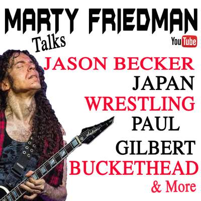 Marty Friedman Interview