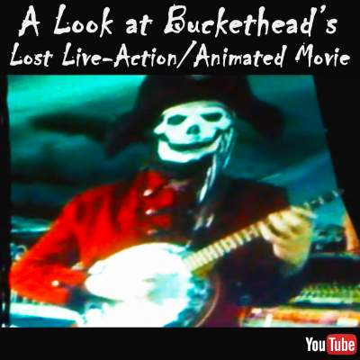 Live-action Buckethead