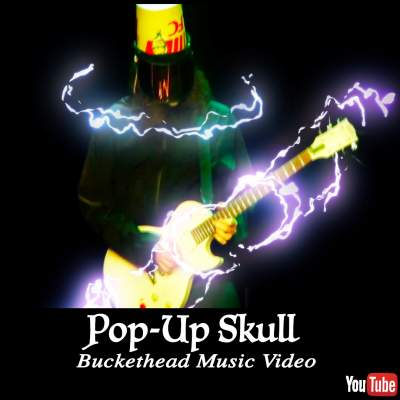 Pop-Up Skull Buckethead