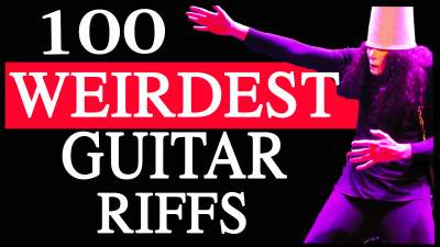 100 Weirdest Guitar Riffs