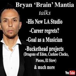 Brain talks Buckethead