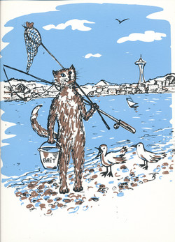 Go Fishing - Silk Screen