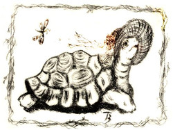 Going to the Party - Dry Point