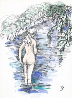 Willow Secrets - Litograph