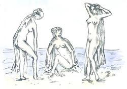 Three Graces - Litograph