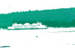 Green Ferry - Silk Screen