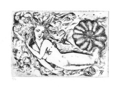 Water Fantasy - Dry Point