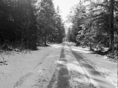 German Winter on Film, BW