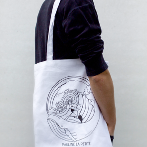 Bag Whale White Long Strap