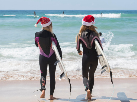 Christmas on Bondi Beach