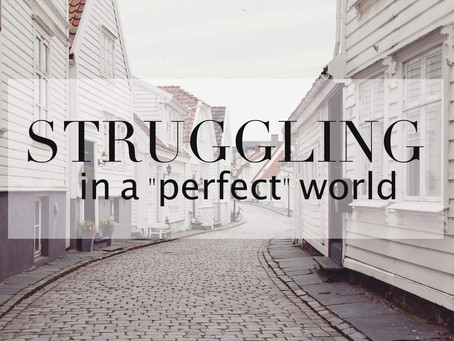 """Struggling in a """"perfect"""" World"""