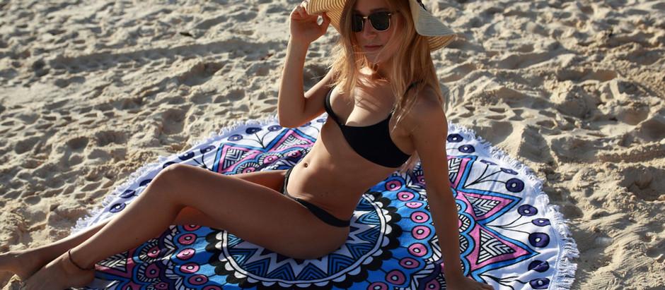 Paloma Blue photo shooting at Bondi Beach